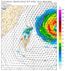快新聞/下週有個「大颱風」 鄭明典:有點太大、太強了不歡迎