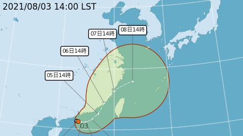 熱低壓蠢動「盧碧」颱風最快今明生成 16縣市豪大雨特報慎防大雷雨