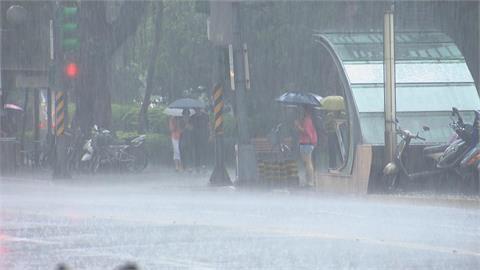 快新聞/11縣市大雨特報「雙北防大雷雨」 新北板橋、台北內湖南港信義二級淹水警戒