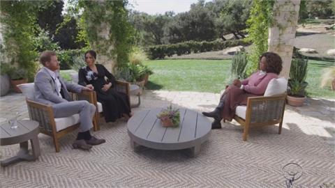 歐普拉專訪哈梅夫妻 兒子沒頭銜因王室歧視