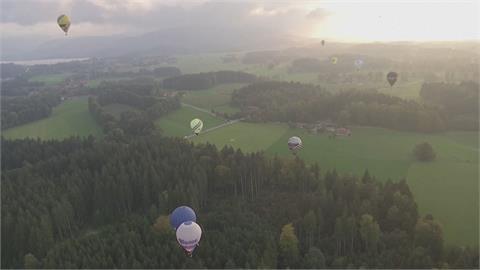 德國熱氣球錦標賽 Fly-in賽事比精準丟沙包