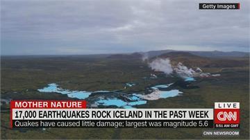 火山運動活躍?冰島過去一週已1.7萬次地震