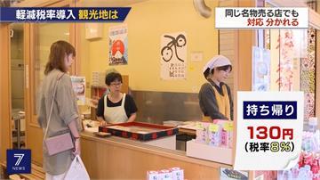 降低消費稅衝擊 日本政府宣布餐飲外帶「凍漲」