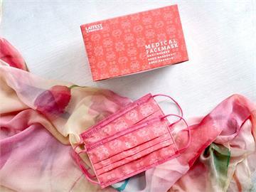 粉色控尖叫! 萊潔「粉絲綢」醫療口罩夢幻登場 3/14首波一萬盒開放預購