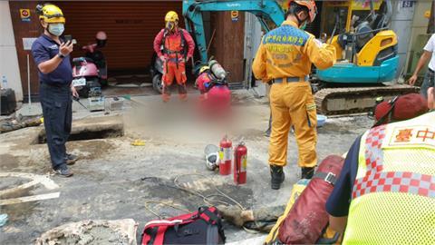 台中維修瓦斯管線意外! 5工人缺氧昏迷「驚悚交疊」
