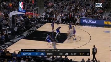 NBA/雷納德率快艇痛宰馬刺 首度在老東家主場獲勝