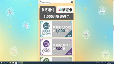 悠遊卡、悠遊付差一個字 五倍券回饋優惠差很大?