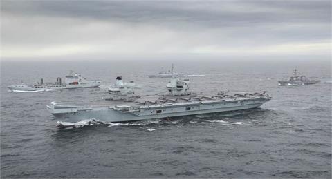 英航艦駛入菲律賓海 展現維護區域安全決心