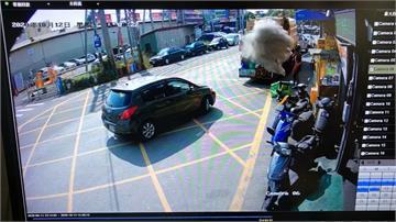 民眾亂丟香灰 垃圾車「塵爆」險釀意外