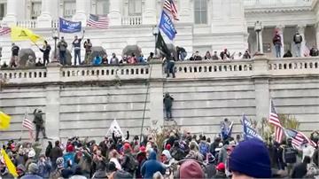 川普支持者闖國會大廈  與警方爆發衝突