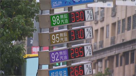 油價又要漲啦! 週一起汽油調升0.6元、柴油漲0.7元