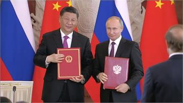 習近平訪俄簽聯合聲明 聯俄抗美意味濃