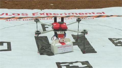 提高醫療物品遞送效率 印度測試「無人機快遞」
