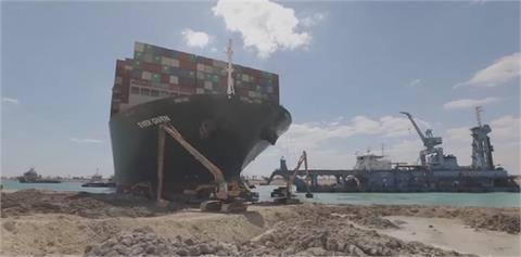 快新聞/大進展!長賜輪「重新浮在水面上」船運公司證實了