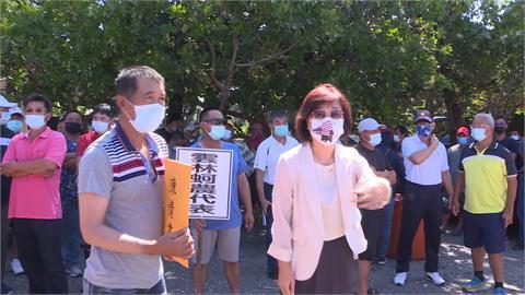 憂牡蠣魚目混珠 蚵農抗議要求標產地