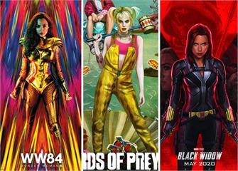 《2020最期待電影TOP 10》黑寡婦+神力女超人+小丑女 女力UP我還不看爆