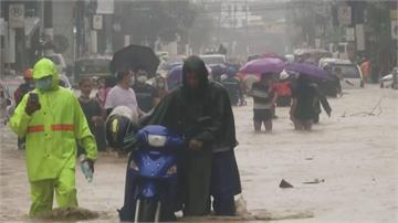 「梵高」颱風登陸菲律賓 馬尼拉成汪洋至少1死