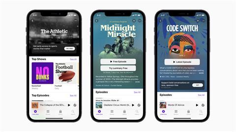 3C/蘋果將於五月推出 Apple Podcast「訂閱制」服務!