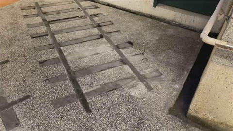拿滅火器瑞芳火車站地下道亂噴 男辯稱與人糾紛被追著跑