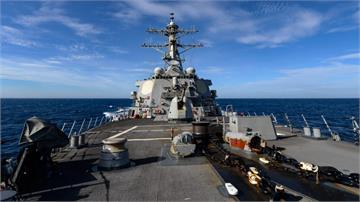 今年第11度!美神盾級驅逐艦再通過台海