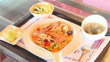 木鱉果創意料理 海鮮燉飯視覺超鮮豔