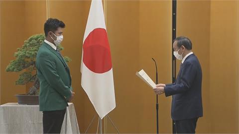 日相授「內閣總理大臣顯彰」 松山要拚東奧金牌