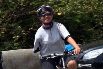 永不放棄!獨臂少女完成13天單車環台
