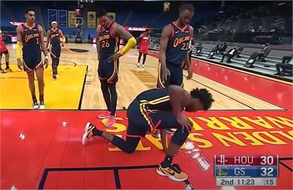 NBA/勇士中鋒魏斯曼右膝半月板撕裂 本季恐報銷