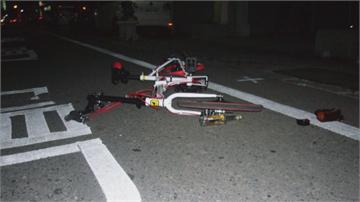 疑天色昏暗釀追撞 單車騎士倒地重傷昏迷