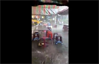 快新聞/南投清境農場午後下大雨 網嗨喊「麻煩下在水庫」