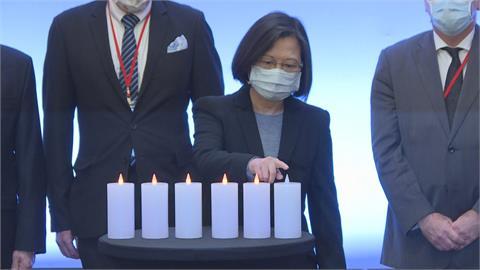 出席國際大屠殺紀念日活動 蔡英文:憂威權、極端主義猖獗