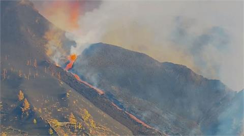 西國火山再次爆發 機場關閉居民撤離