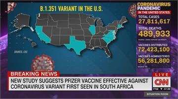 美國下月開打嬌生疫苗 暴風雪打亂拜登接種計畫