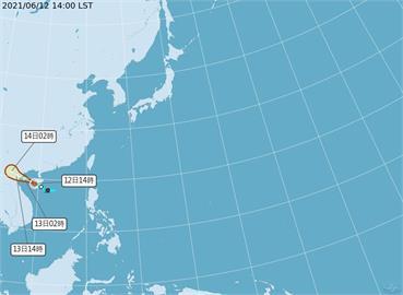 快新聞/「小熊」颱風生成!對台無影響 朝西北西方向移動
