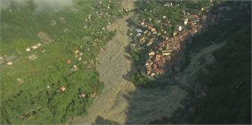 法義山區受風暴橫掃 至少4死20失蹤