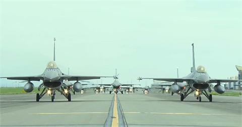 快新聞/中國軍機39架次擾台! 空軍曝影片嗆:怎能讓敵機飛在我們頭上