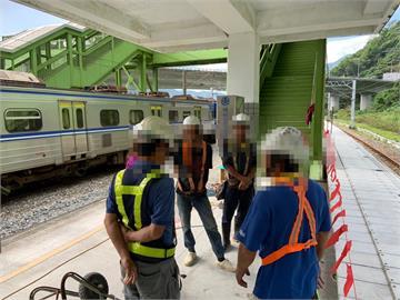 快新聞/違規施工釀太魯閣號擦撞 營造公司:有報備台鐵但工人提前闖入
