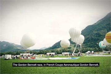 瑞士熱氣球大賽 冠軍隊伍飛行1835公里