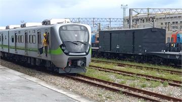 台鐵最美區間車首試就落漆!集電弓異常被迫停駛