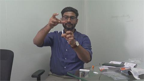 印度疫情嚴峻 業者打造首個家用快篩組 15分就知結果