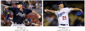 MLB/「道奇少主」再對決「勇士王牌」 國聯冠軍戰G6鎖定民視