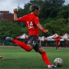 日本學生來台學中文 意外踢進企業甲級足球聯賽