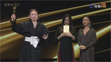 快新聞/魏如萱奪金曲歌后 台上激動落淚:感謝在天上的爸媽爺爺
