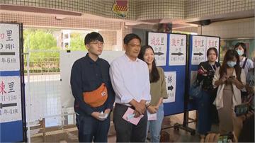 快新聞/吳益政偕兒女一起投票 回憶52天像「做一場連續劇的夢」