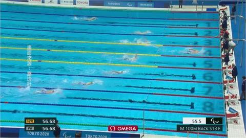 帕運/中國隊女子50公尺自由式金銀牌被取消 將擇日重賽
