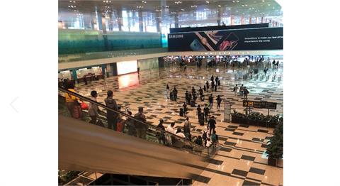 快新聞/新加坡樟宜機場爆群聚感染 第3航廈B2關閉