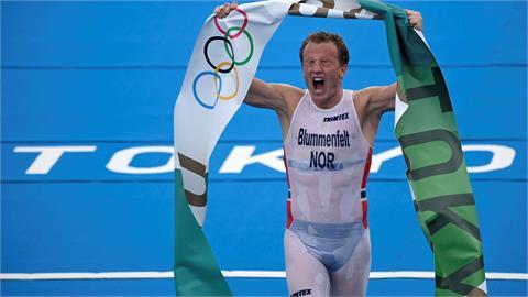 東奧/金牌選手變身「內褲超人」挪威人傻眼 衣服太透內在美全都露