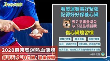 2020東京奧運熱血沸騰 桌球天才「林昀儒」聲量爆棚