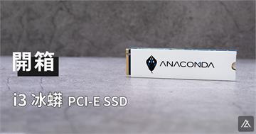 「開箱。評測」巨蟒 Anacomda i3 PCI-E M.2 SSD - 這隻蛇蛇有點強呀