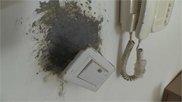房客拖欠3個月房租  屋內洞孔被水泥封死